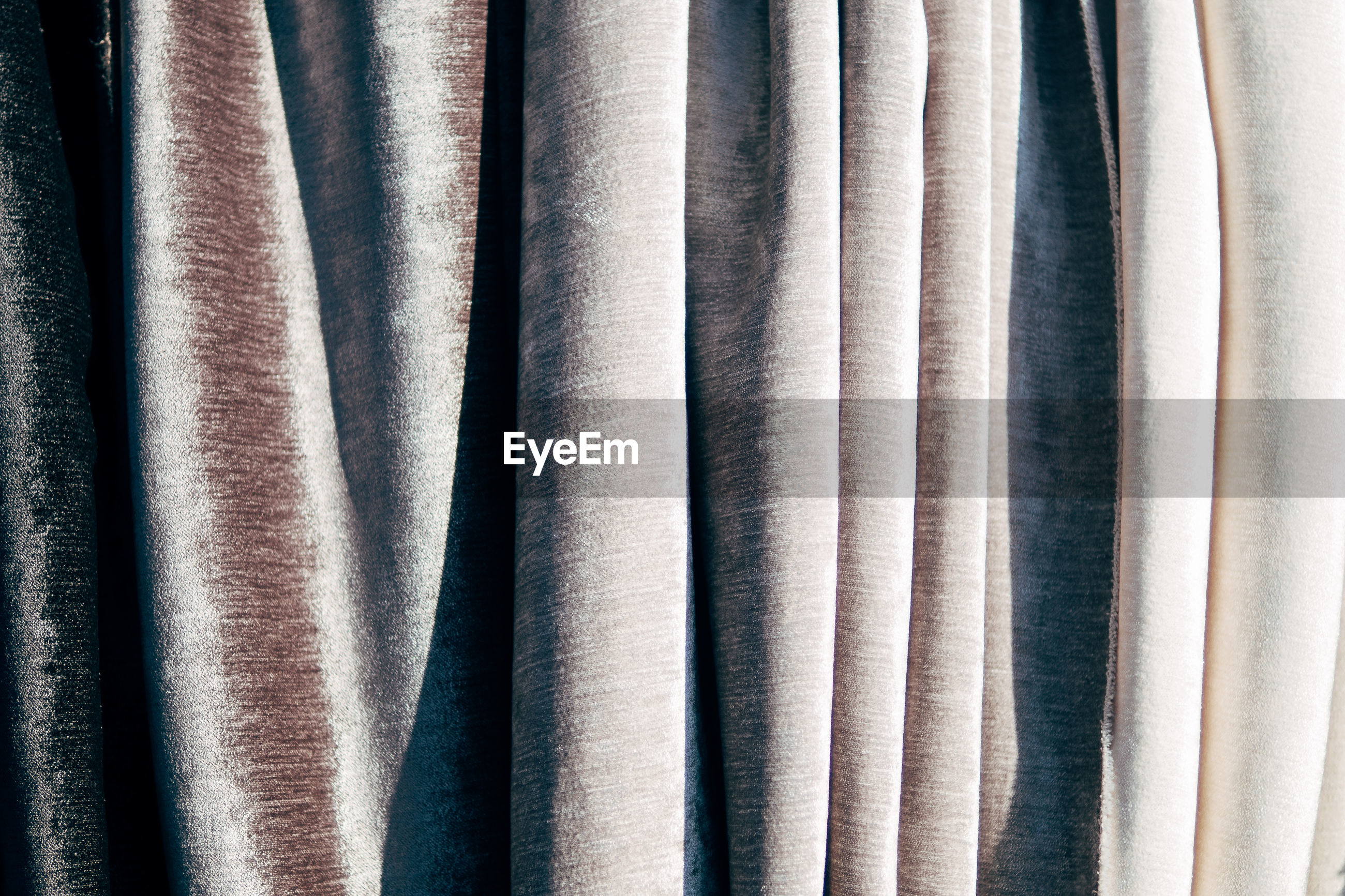 Full frame shot of fabric for sale in store