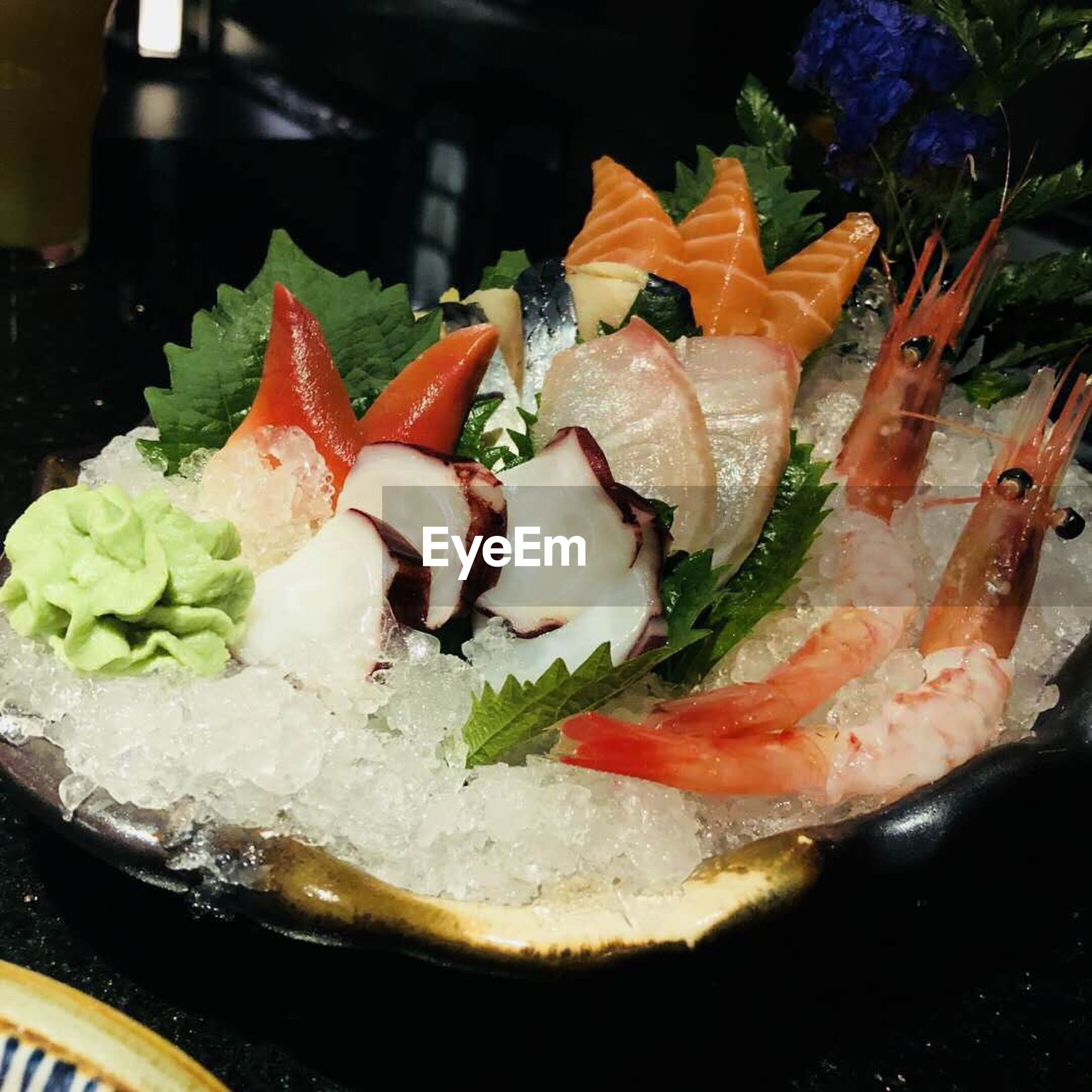 food, food and drink, freshness, ready-to-eat, healthy eating, wellbeing, indoors, close-up, plate, still life, serving size, vegetable, seafood, no people, fish, indulgence, meat, slice, fruit, bread, japanese food, crockery, dinner, caviar