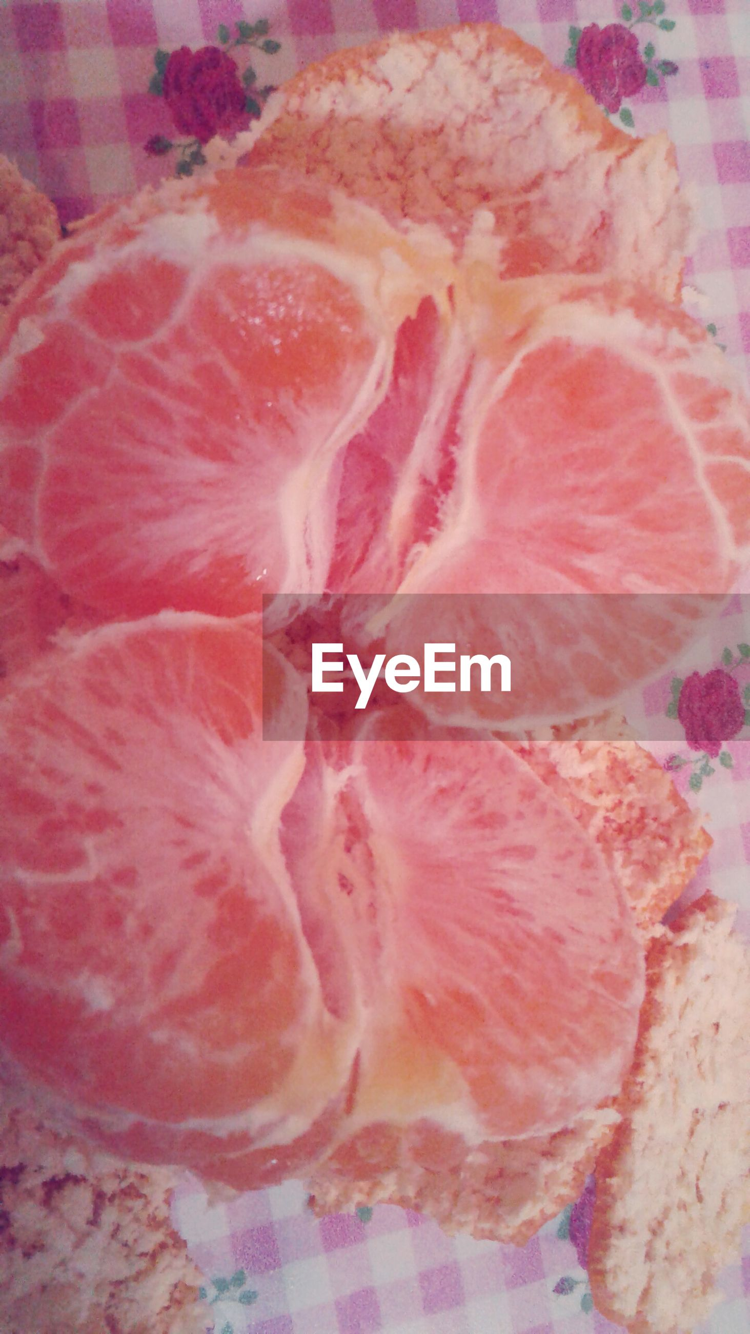 slice, food, food and drink, healthy eating, pink color, cross section, meat, no people, indoors, fruit, freshness, close-up, day