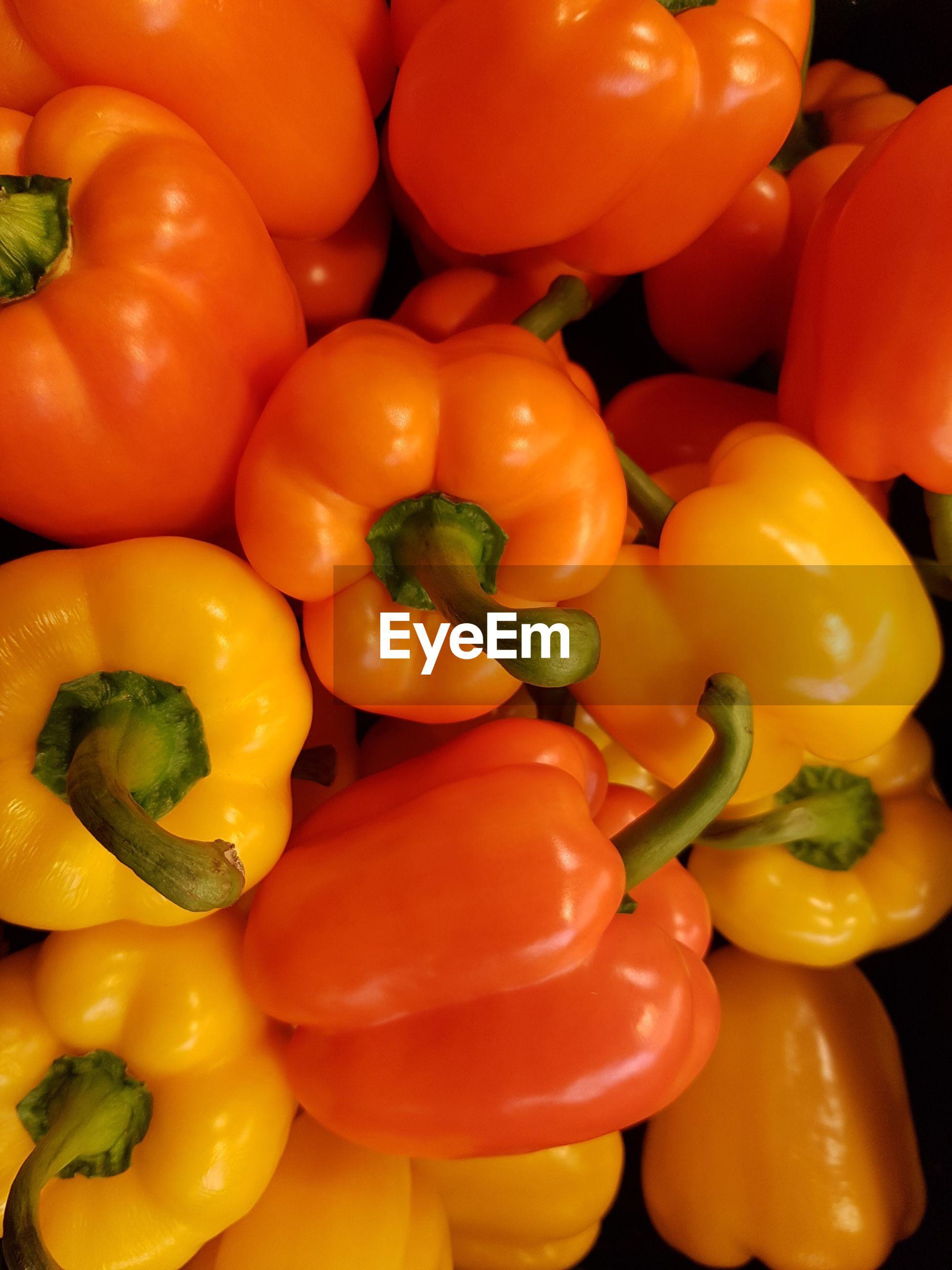 Full frame shot of chili peppers