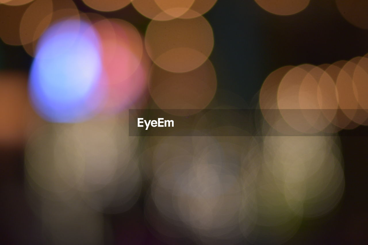 illuminated, defocused, night, lighting equipment, circle, pattern, light - natural phenomenon, geometric shape, shape, no people, light, glowing, multi colored, lens flare, indoors, design, close-up, electric light, abstract, backgrounds, electricity