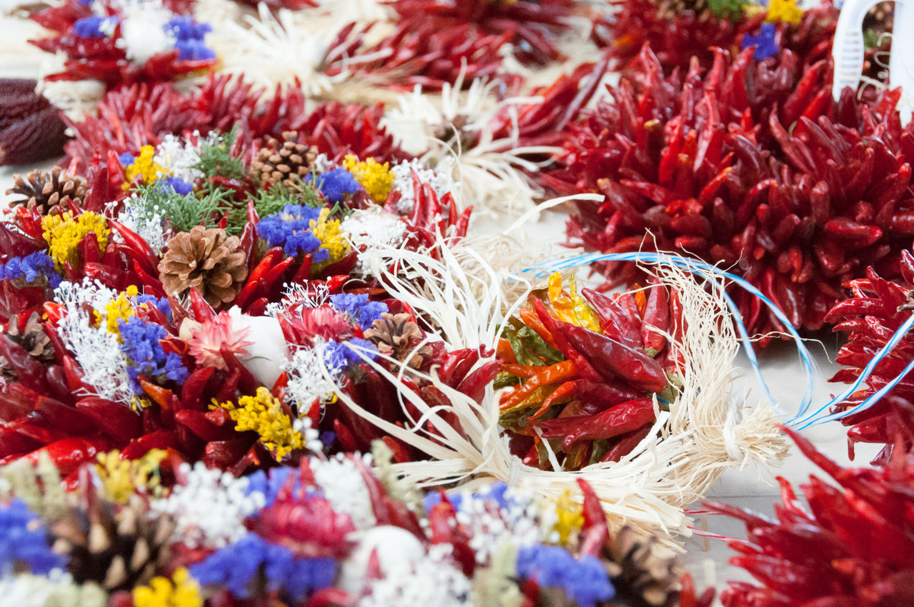 Close-Up Of Decorations For Sale