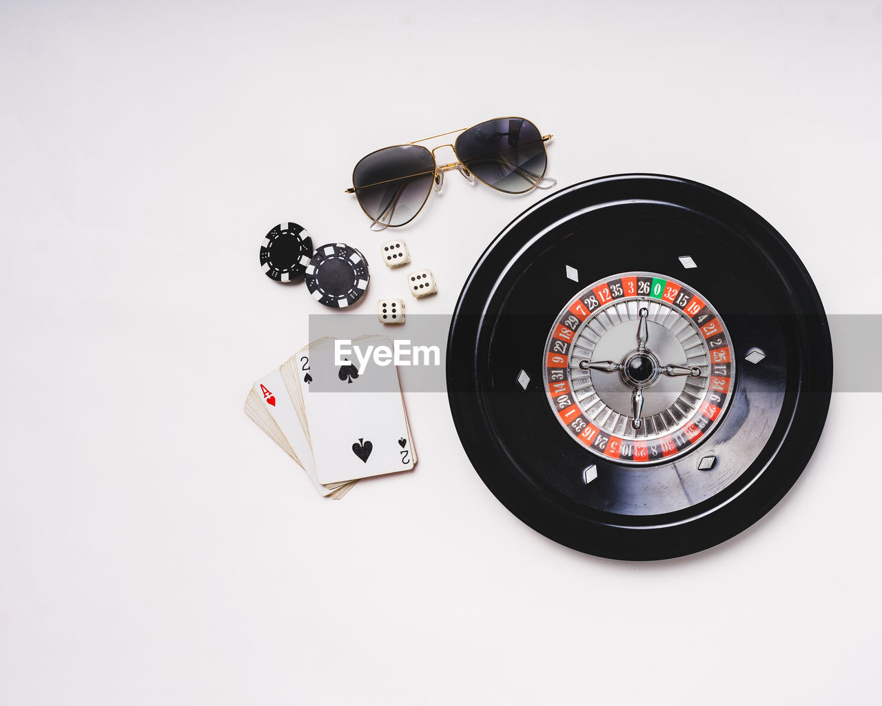 white background, studio shot, time, no people, technology, gambling, close-up, minute hand, clock face, day