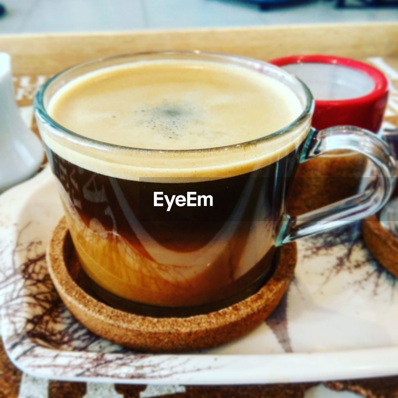food and drink, drink, refreshment, coffee cup, table, coffee - drink, freshness, no people, indoors, close-up, saucer, healthy eating, frothy drink, food, day