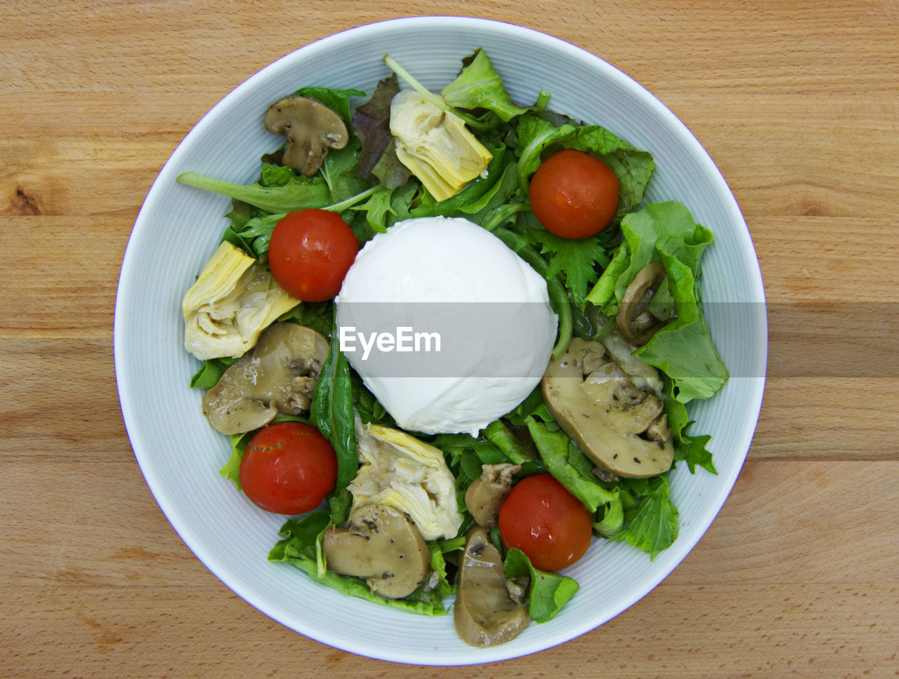 vegetable, food, food and drink, tomato, table, healthy eating, ready-to-eat, freshness, salad, directly above, wellbeing, plate, fruit, indoors, dairy product, still life, close-up, no people, bowl, wood - material, vegetarian food, dinner