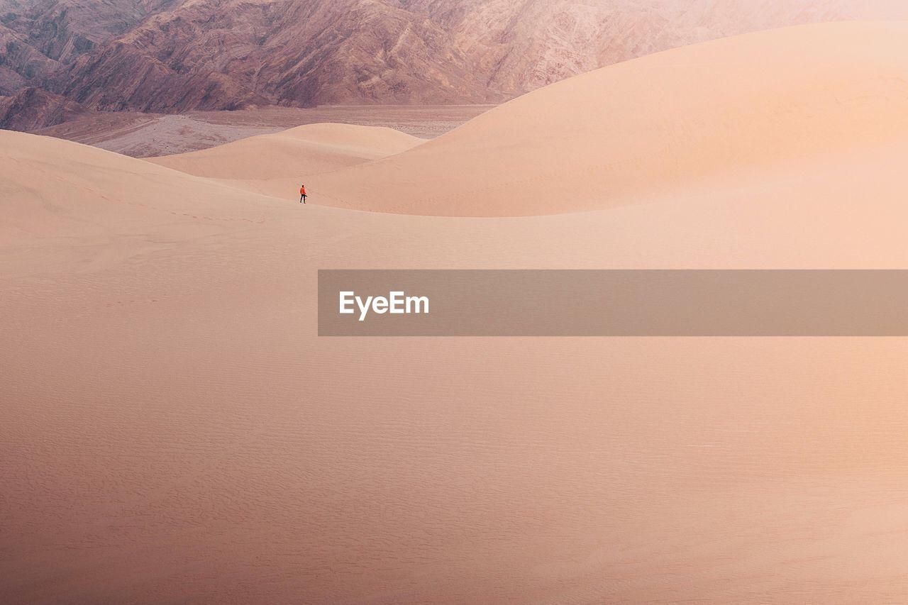 Man On Desert