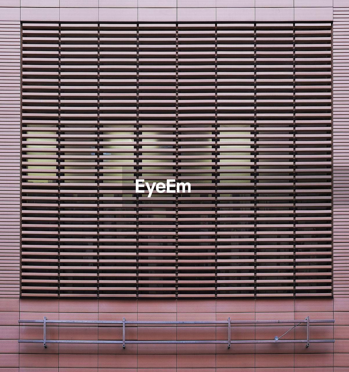 Patterned Window In Building