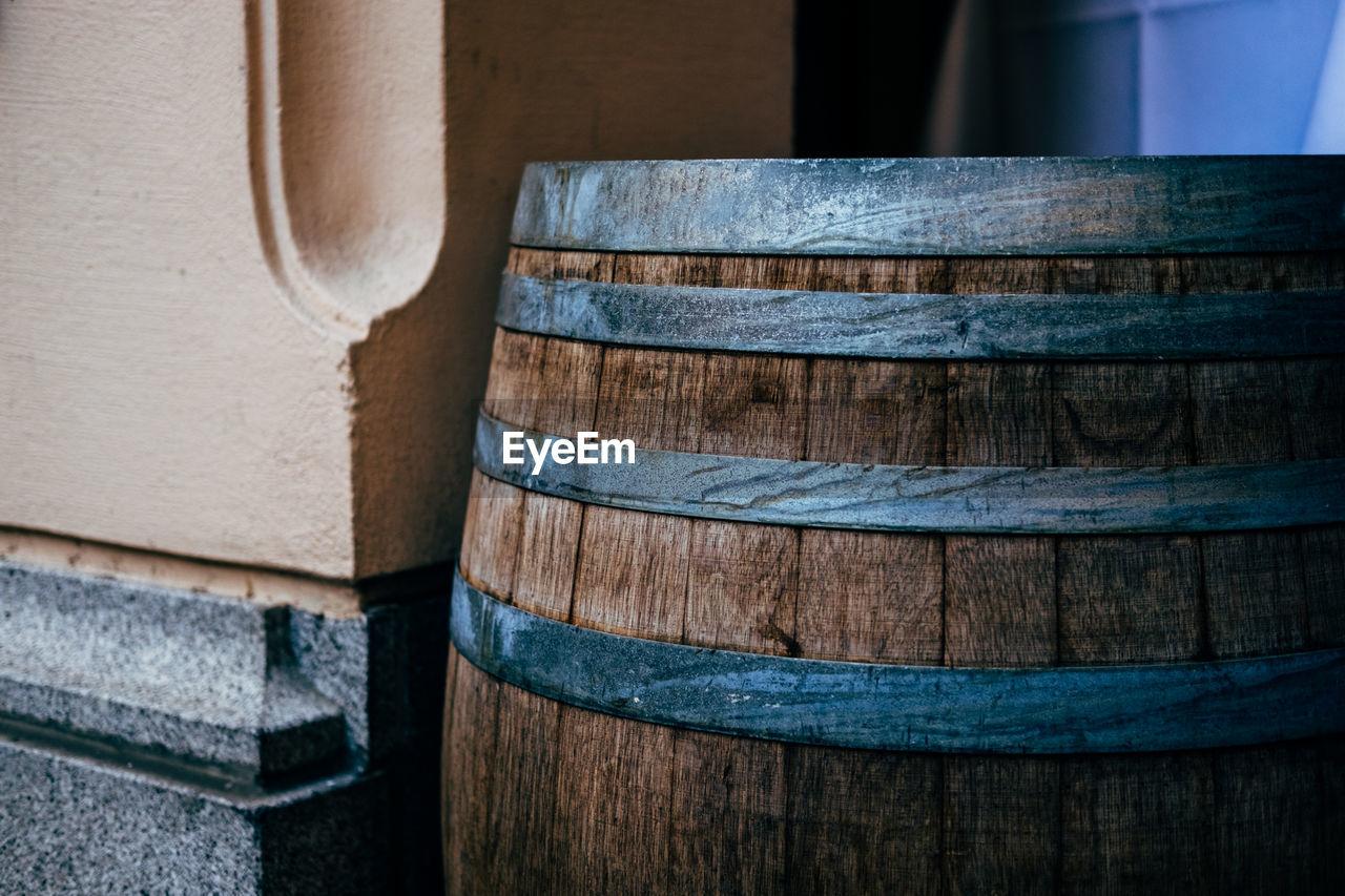 Close Up Of Barrel