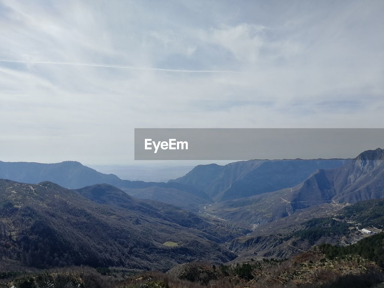 mountain, scenics - nature, beauty in nature, tranquil scene, mountain range, sky, landscape, tranquility, environment, non-urban scene, cloud - sky, no people, nature, day, idyllic, remote, outdoors, plant, valley, travel, mountain peak