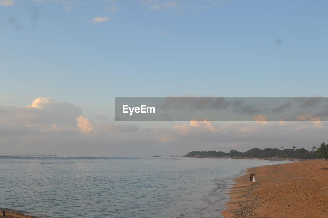 sky, water, beauty in nature, scenics - nature, sea, tranquility, cloud - sky, land, tranquil scene, beach, nature, sunset, non-urban scene, idyllic, no people, horizon, horizon over water, outdoors, day