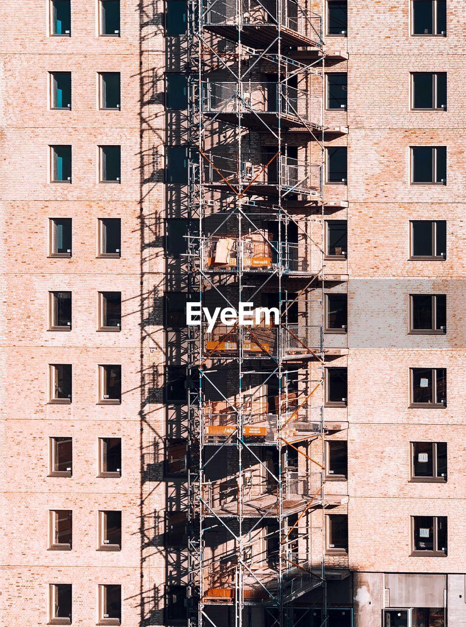 Full Frame Shot Of Under Construction Building