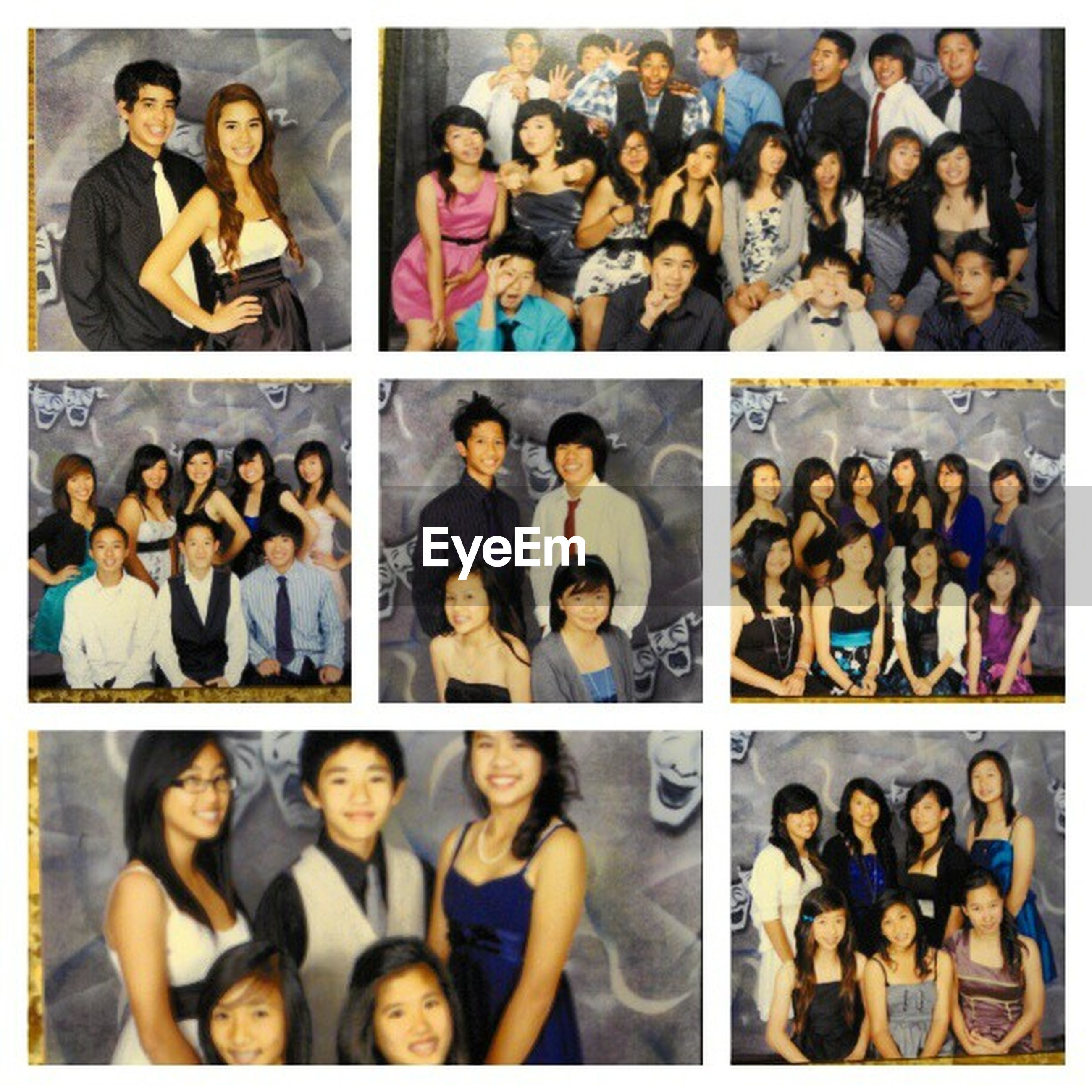 transfer print, togetherness, lifestyles, leisure activity, men, standing, large group of people, person, auto post production filter, casual clothing, indoors, side by side, high angle view, friendship, bonding, sitting, human representation, variation, shoe