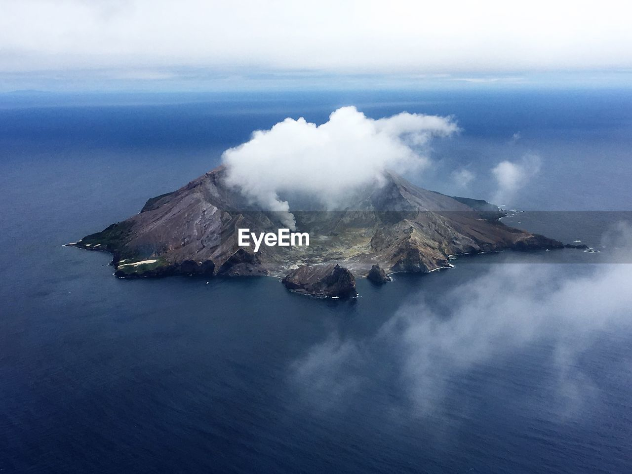 One of the last active volcanos