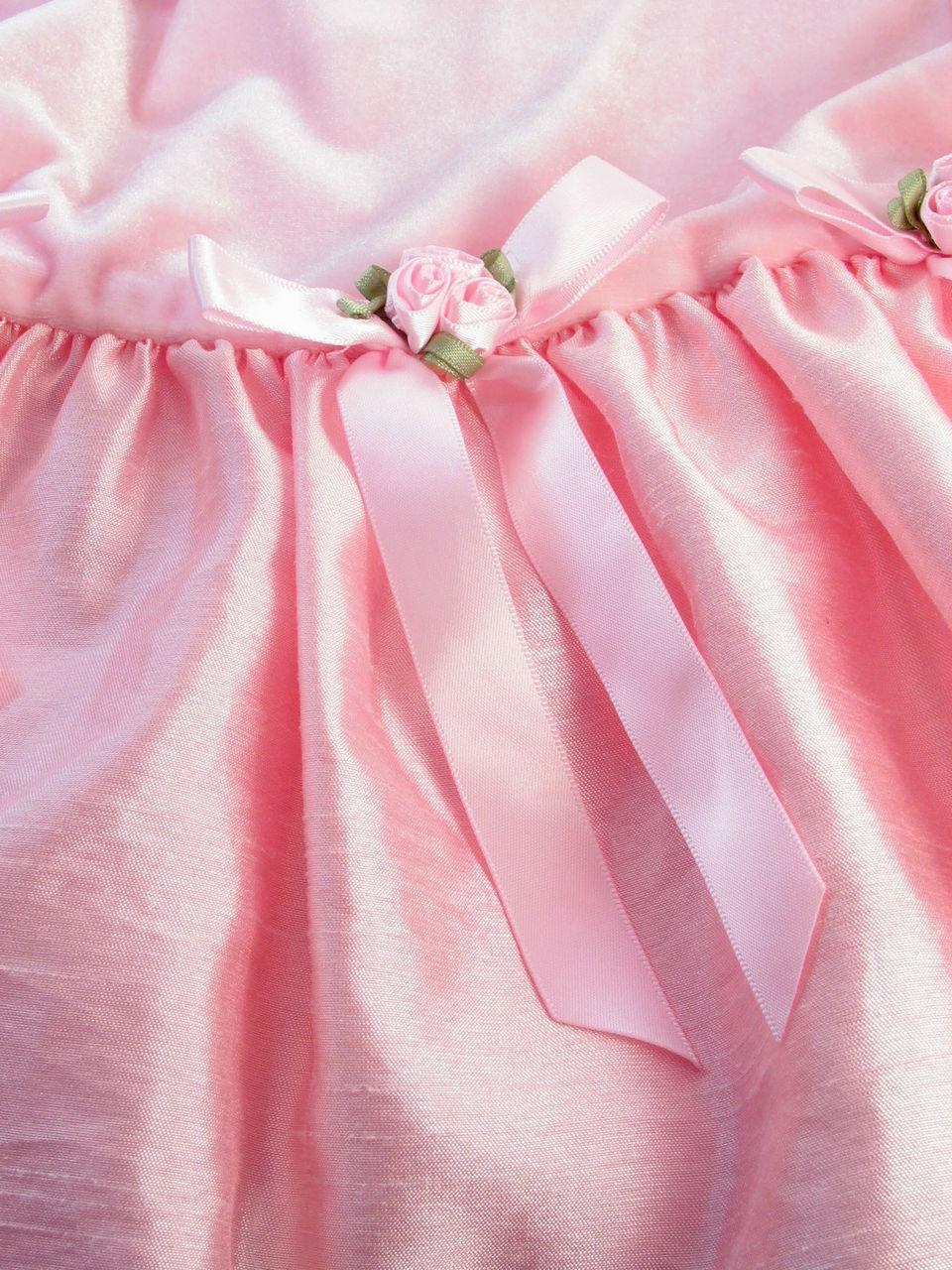 Full frame shot of pink dress