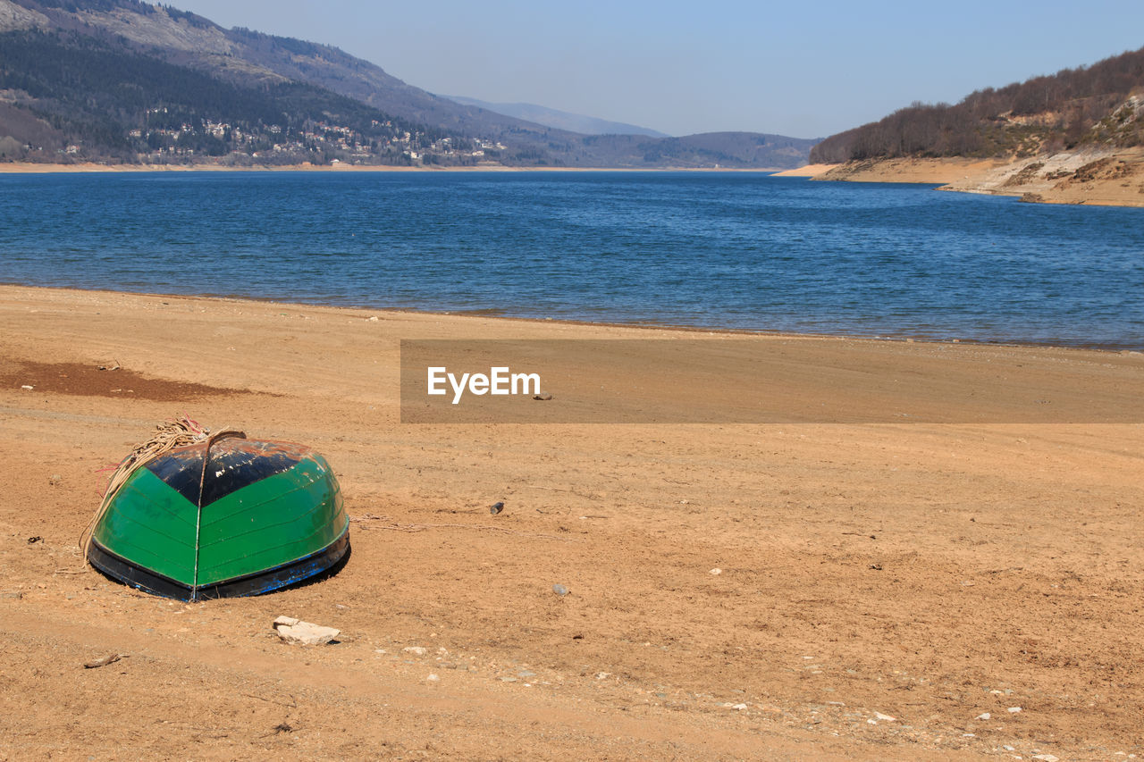 Row Boat On Beach