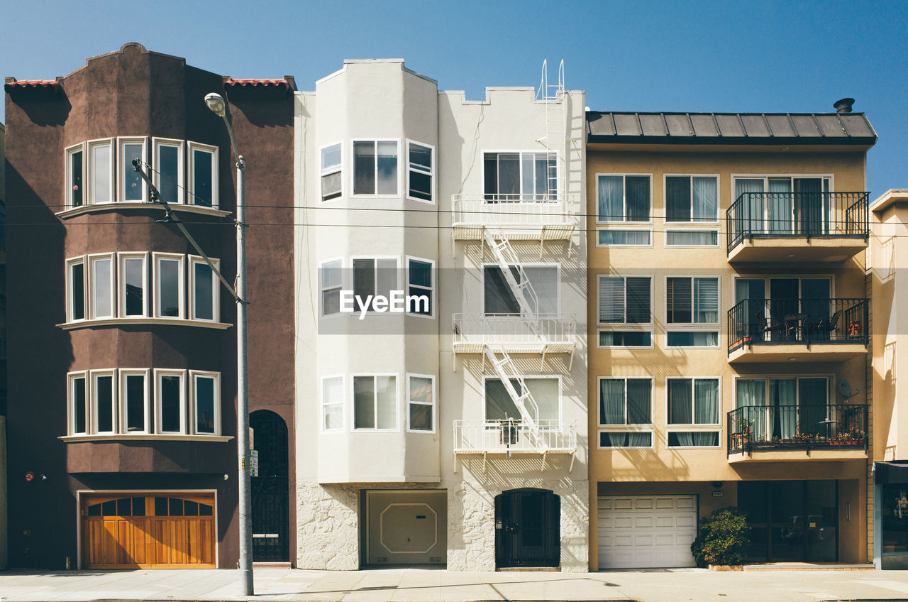 architecture, building exterior, window, built structure, residential building, day, outdoors, no people, clear sky, sky