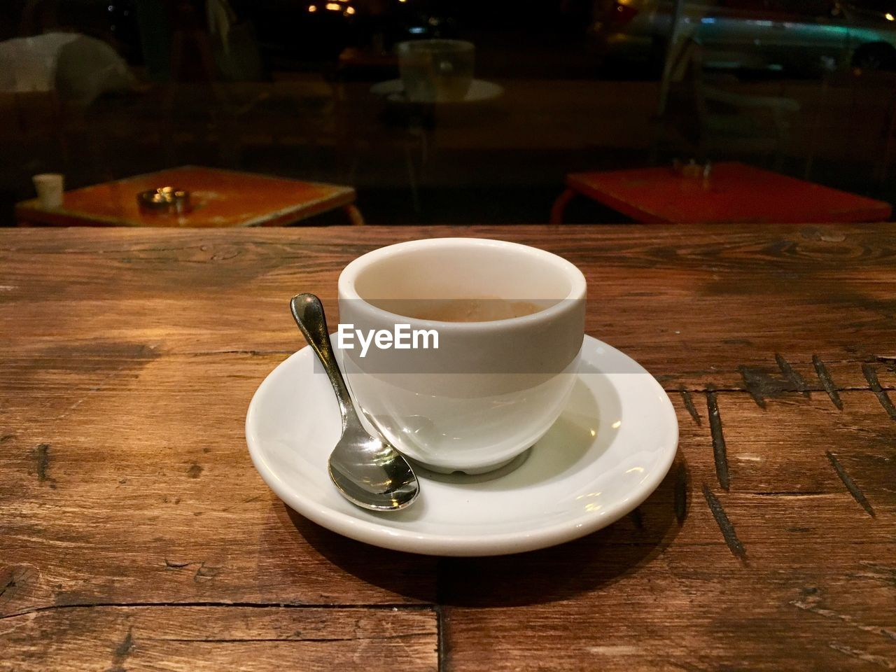 table, drink, refreshment, food and drink, saucer, wood - material, indoors, coffee cup, no people, freshness, close-up, day