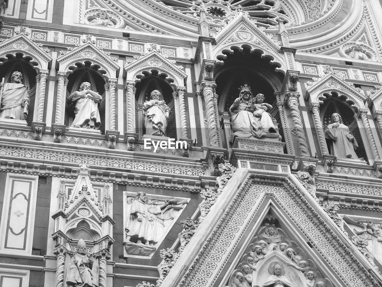 Low Angle View Of Duomo Santa Maria Del Fiore