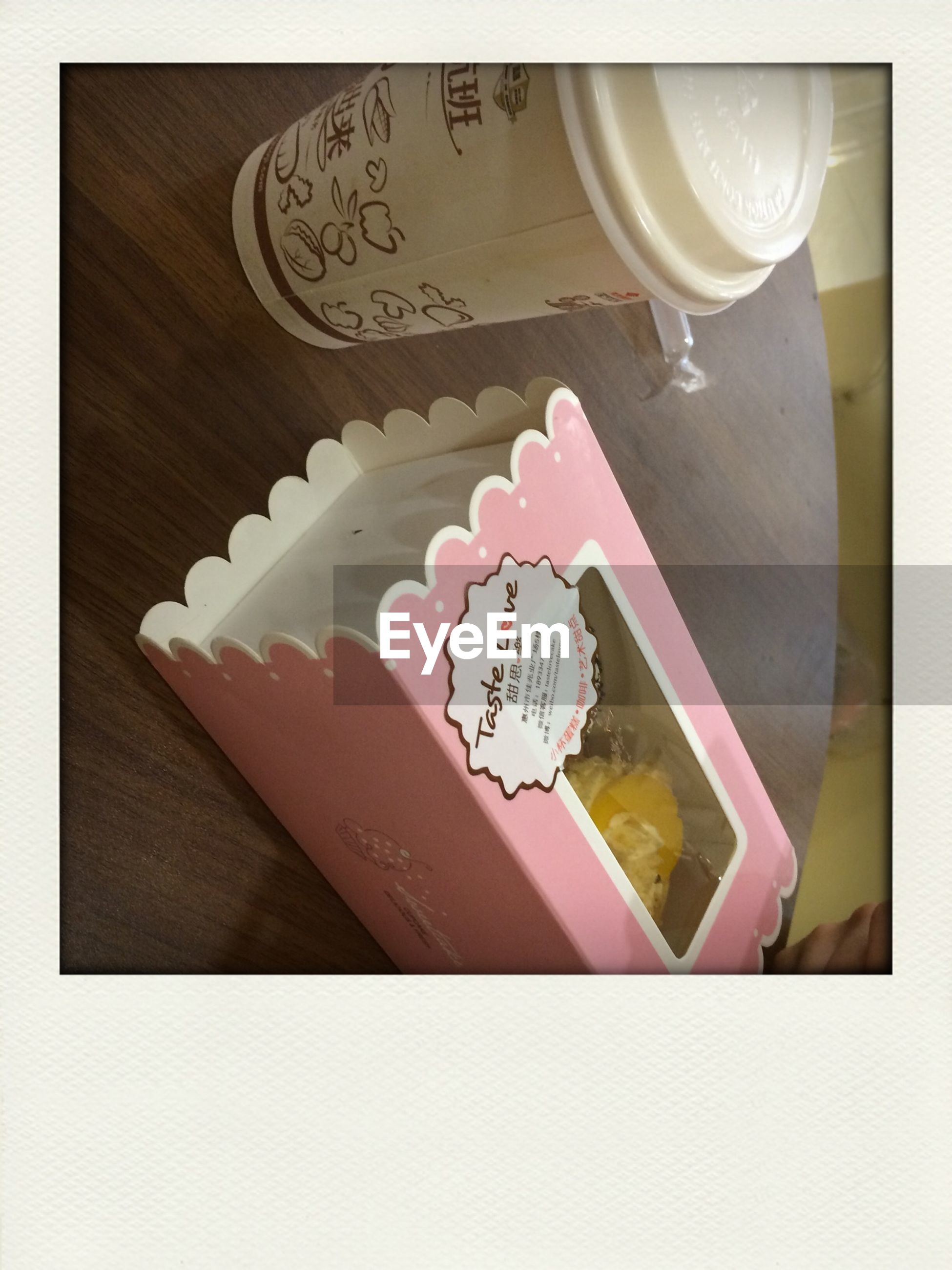 indoors, still life, table, transfer print, paper, close-up, food and drink, auto post production filter, high angle view, sweet food, freshness, dessert, art, creativity, heart shape, art and craft, book, indulgence, text, communication