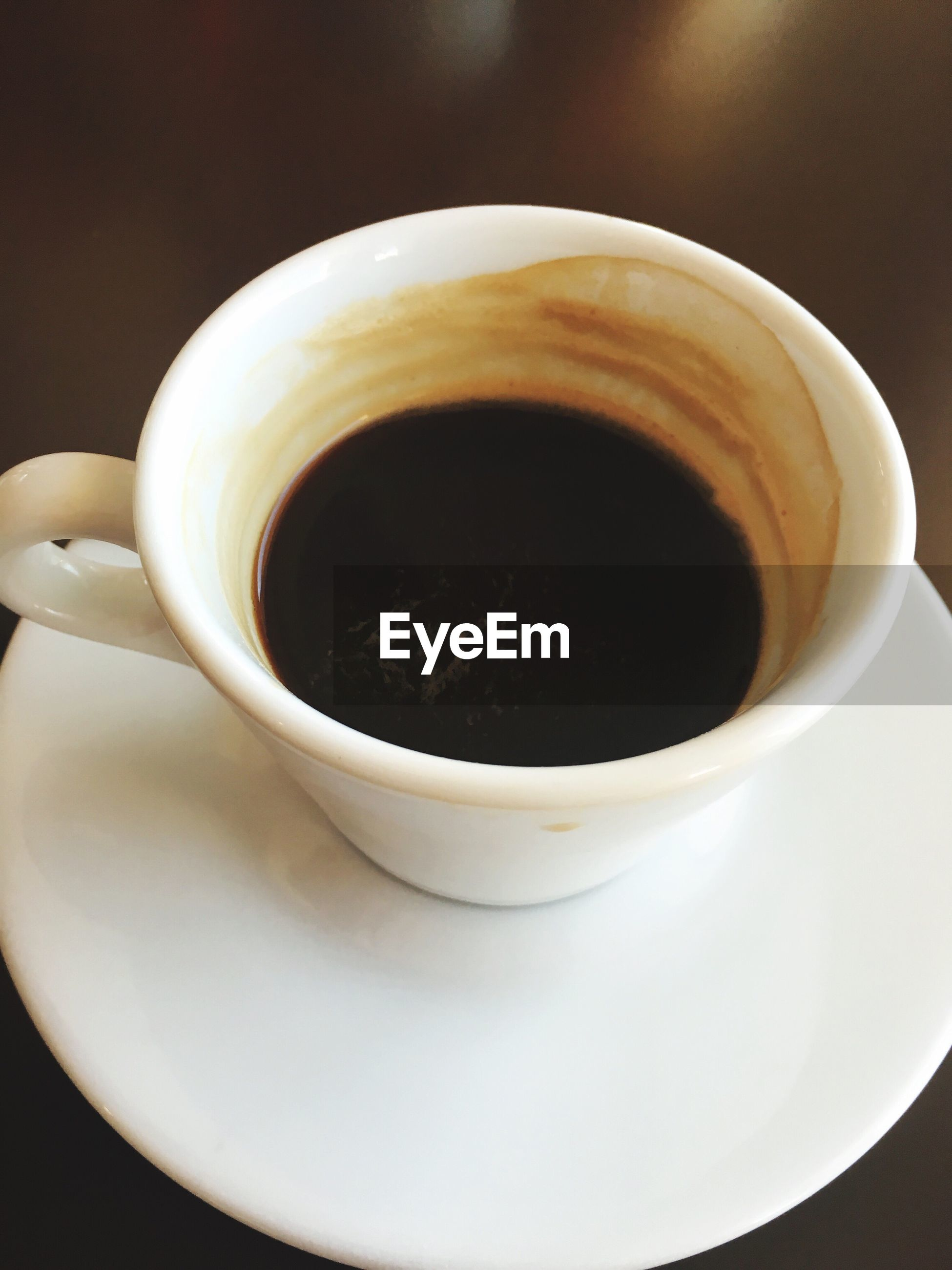 CLOSE-UP OF COFFEE ON CUP