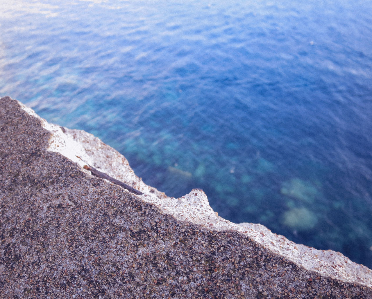 water, sea, nature, day, beauty in nature, outdoors, no people, high angle view, tranquility, tranquil scene, textured, scenics, close-up