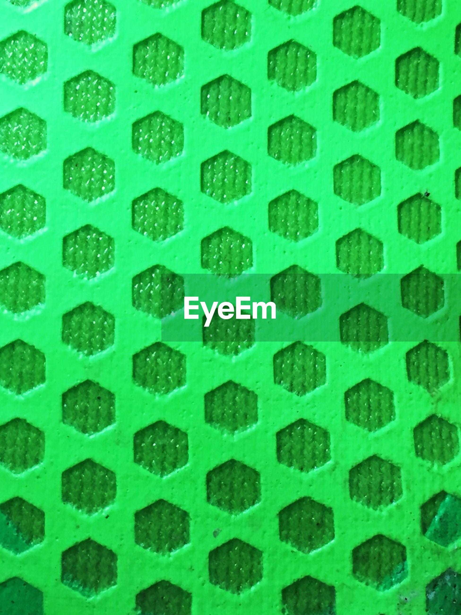 Detail shot of green designed background
