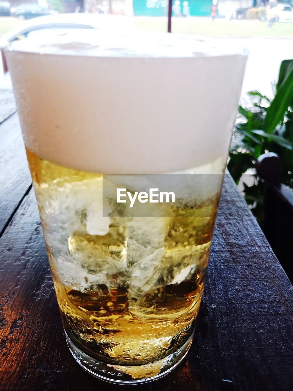 drink, food and drink, refreshment, drinking glass, household equipment, glass, close-up, focus on foreground, still life, cold temperature, beer, alcohol, freshness, table, beer - alcohol, frothy drink, beer glass, indoors, day, no people, froth, non-alcoholic beverage