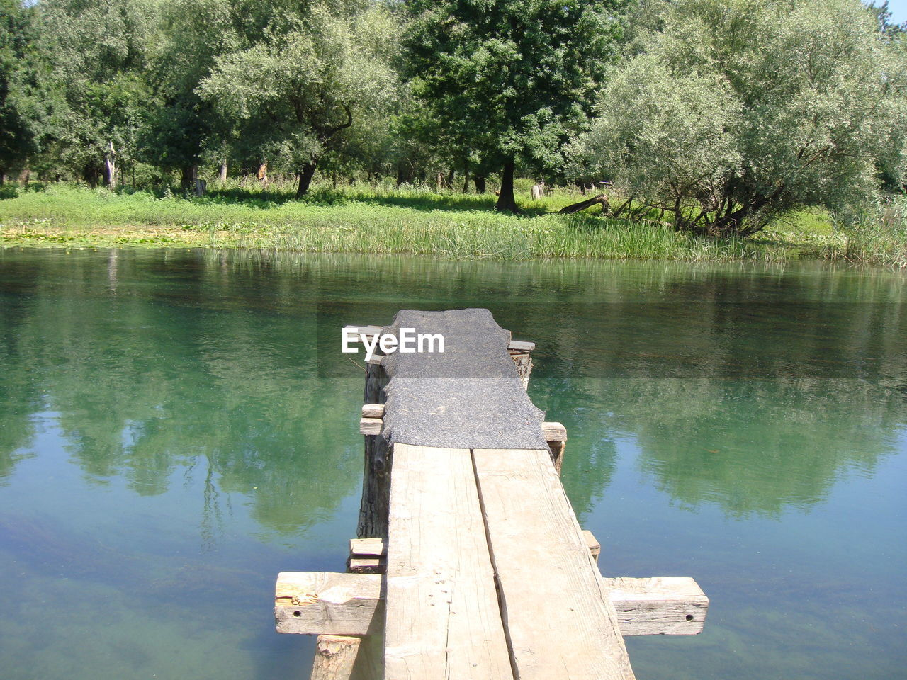 tree, nature, reflection, no people, outdoors, water, day, wood - material, beauty in nature, lake, tranquility, scenics