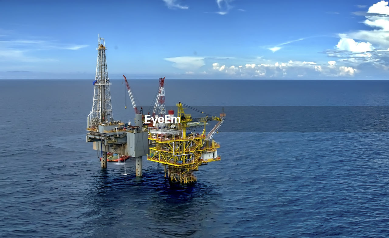 Offshore Drilling Platform From Malaysia