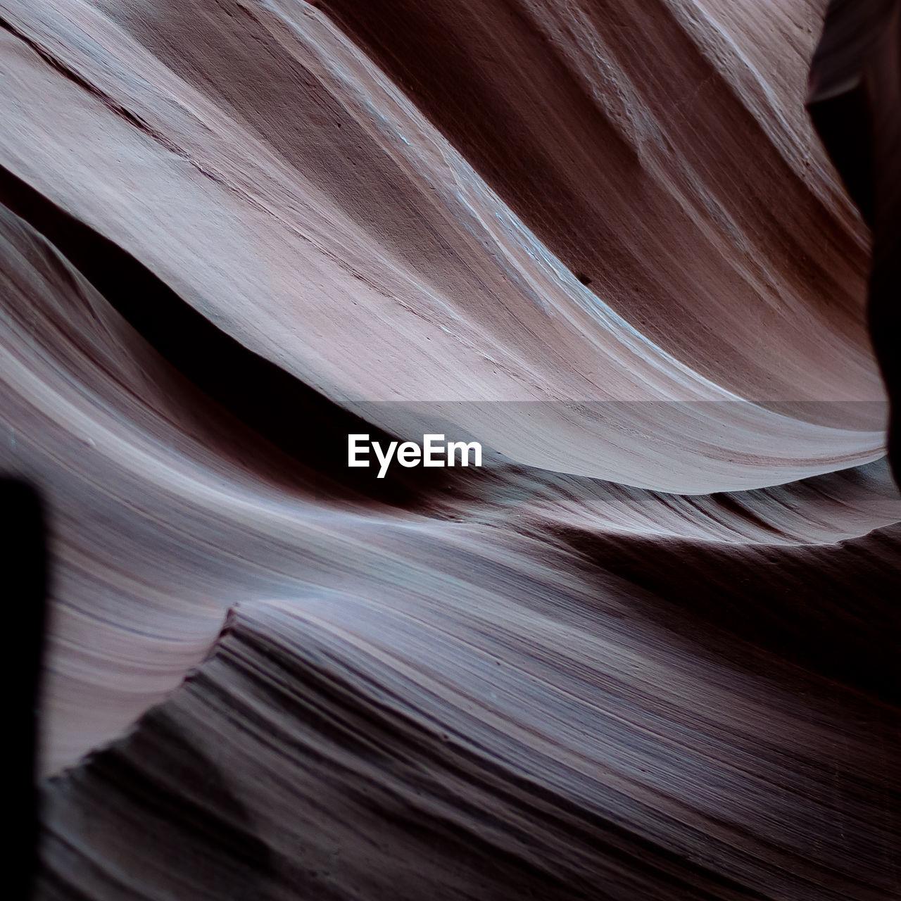 Full frame shot of rock formation