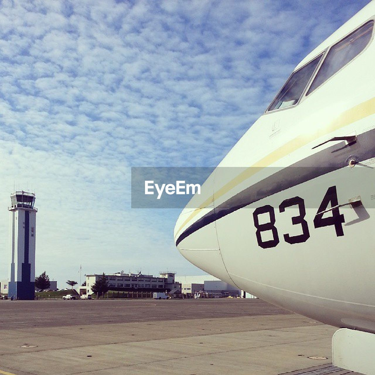sky, text, transportation, day, mode of transport, outdoors, no people, airplane