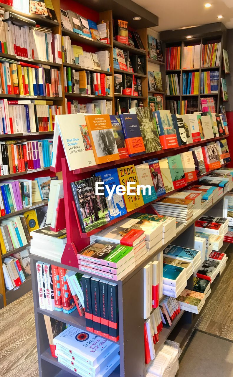 publication, book, large group of objects, choice, variation, bookshelf, shelf, abundance, education, indoors, arrangement, retail, for sale, collection, no people, literature, library, stack, still life, store, order, consumerism