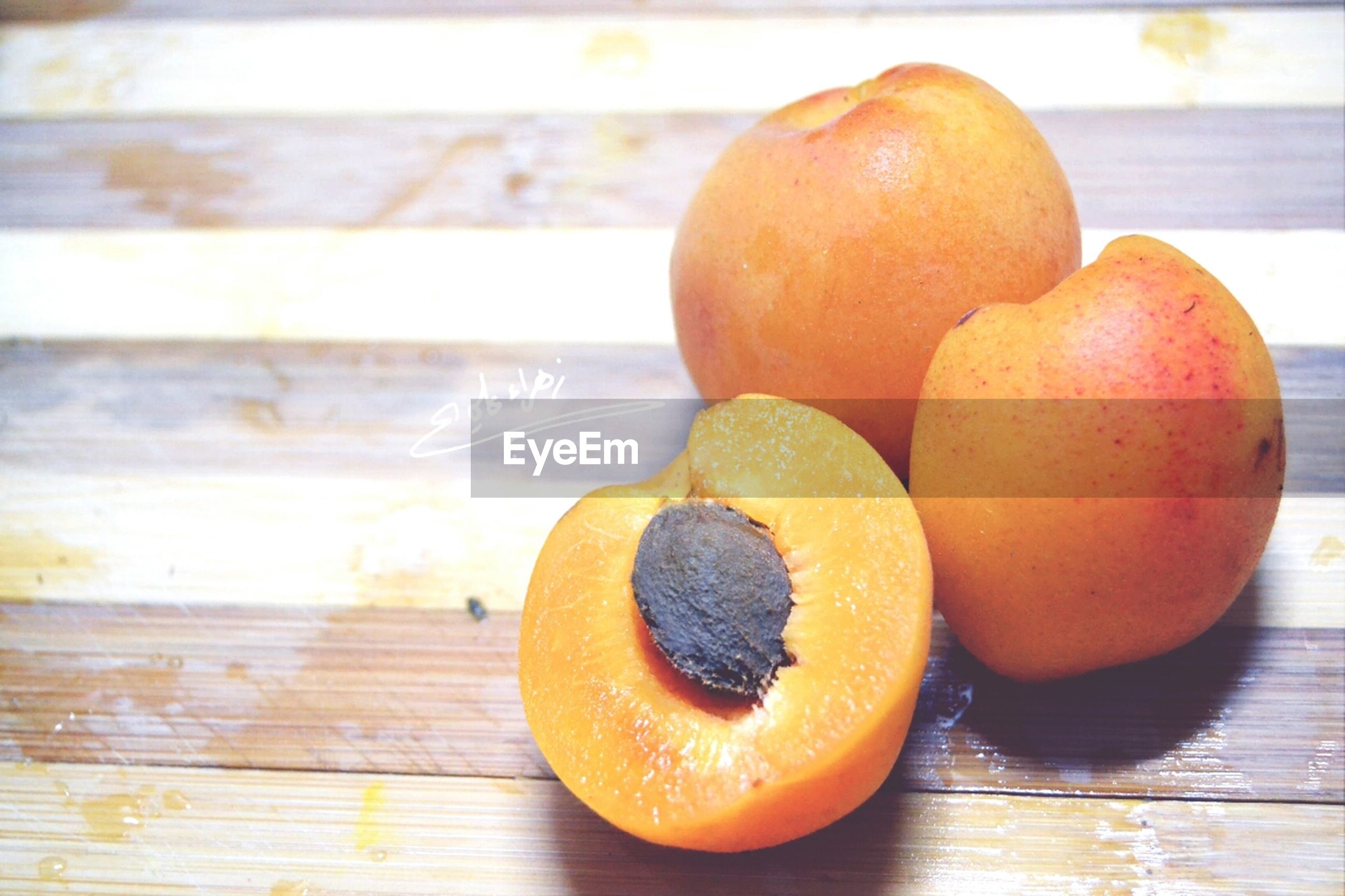 food and drink, table, still life, food, fruit, indoors, freshness, close-up, healthy eating, orange color, focus on foreground, wood - material, sweet food, no people, wooden, orange - fruit, brown, selective focus, ripe, shape