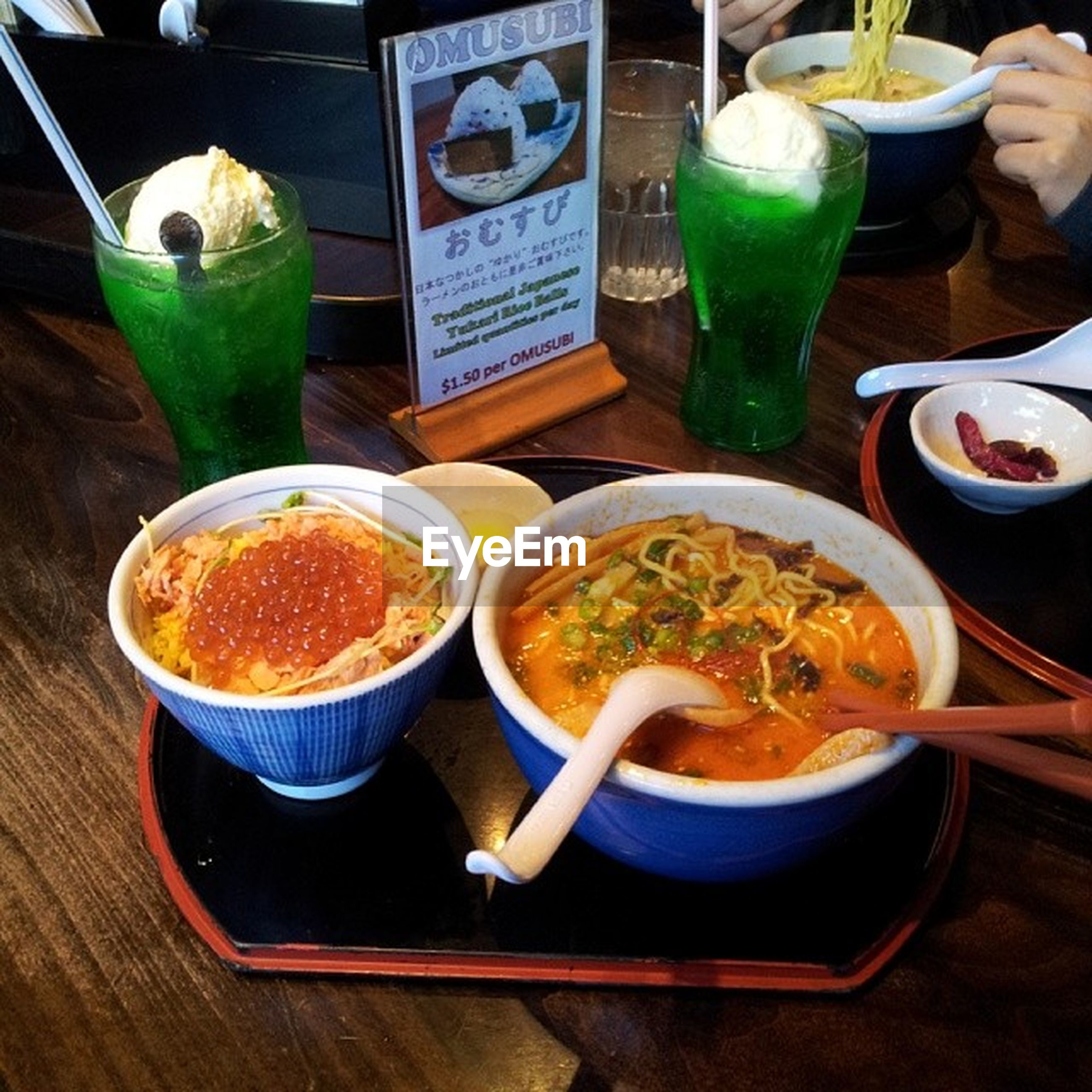 food and drink, freshness, table, food, healthy eating, indoors, ready-to-eat, still life, drink, meal, bowl, plate, soup, serving size, high angle view, close-up, healthy lifestyle, refreshment, no people, served