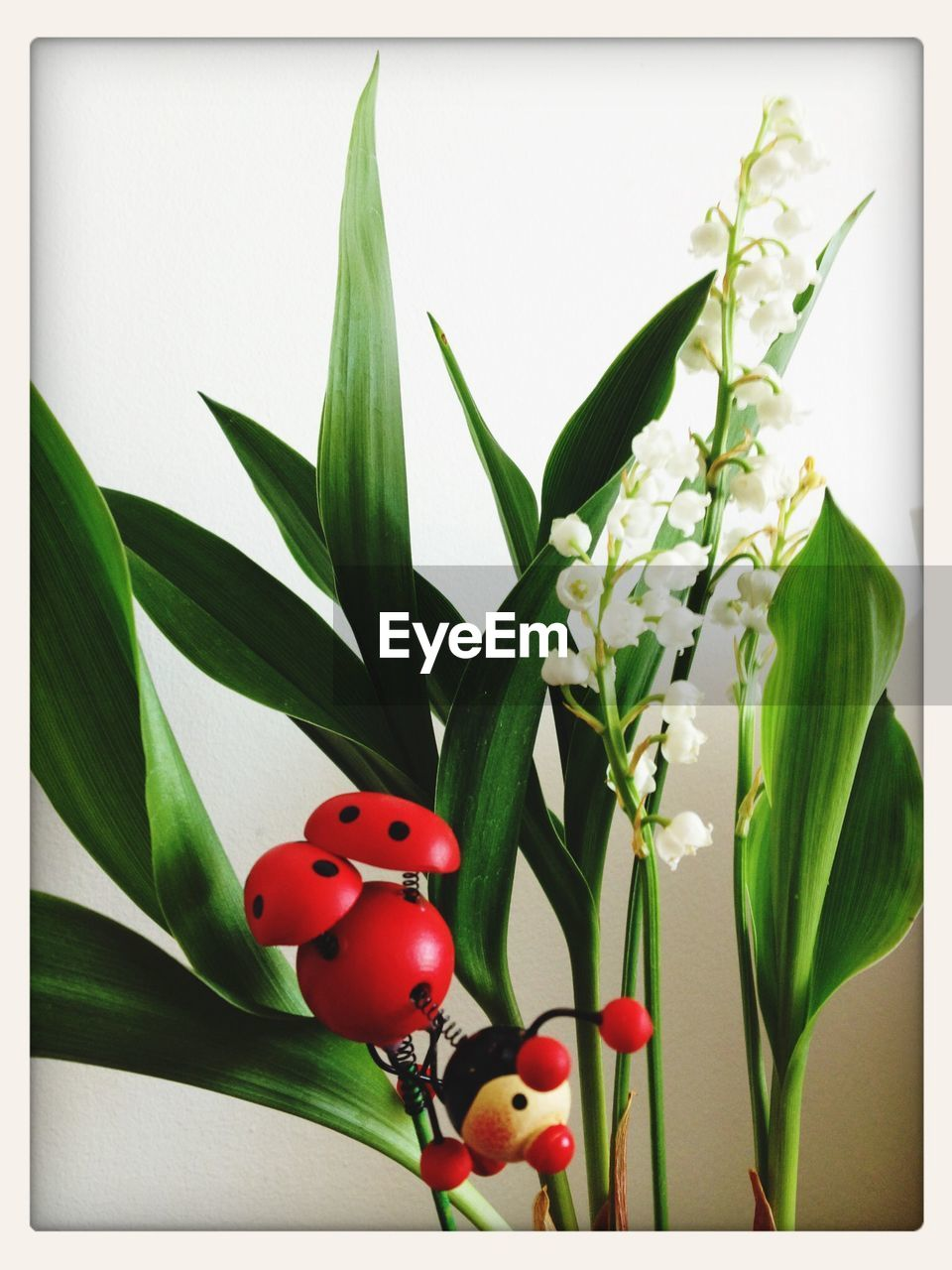 Lily-Of-The-Valley Flower With Artificial