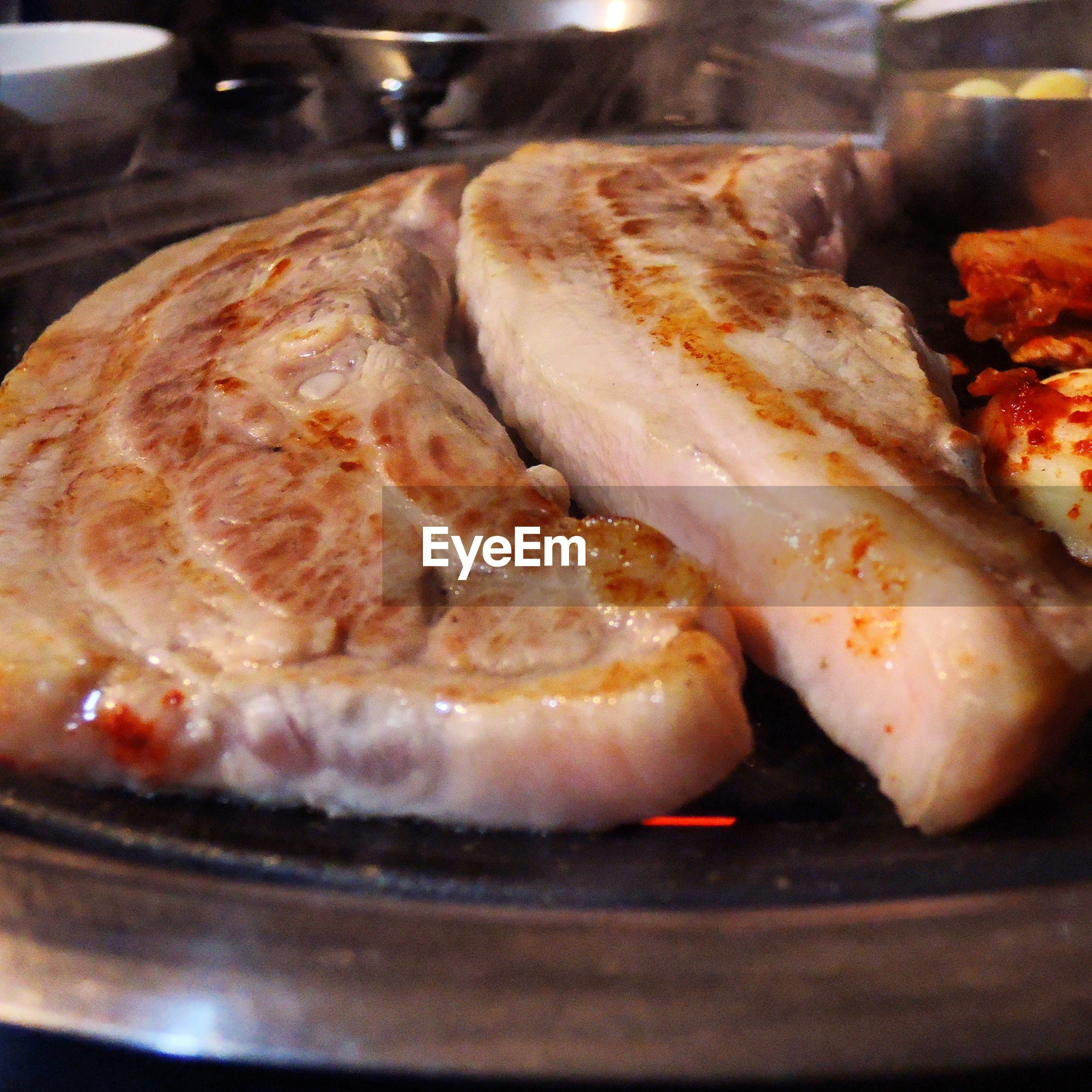 food and drink, food, indoors, freshness, still life, healthy eating, close-up, ready-to-eat, meat, cooking, preparing food, indulgence, preparation, meal, selective focus, seafood, grilled, baked, focus on foreground