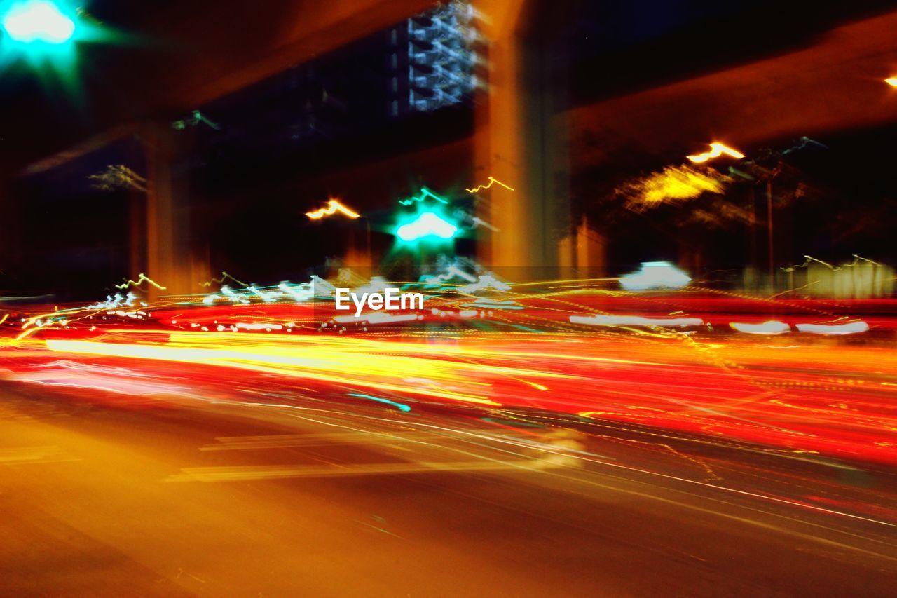 Speed of light on road