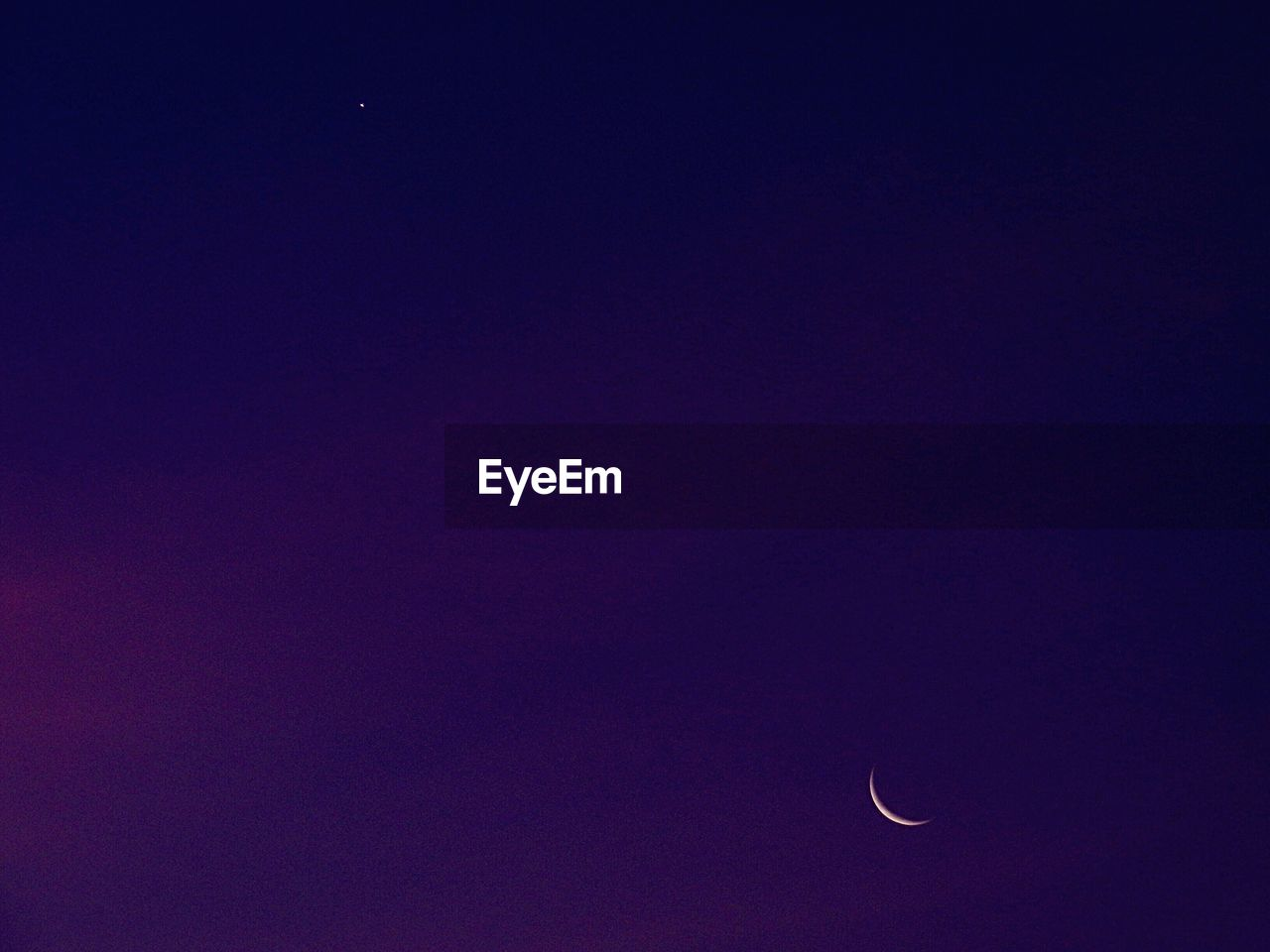 moon, copy space, astronomy, beauty in nature, night, crescent, nature, half moon, scenics, tranquility, tranquil scene, clear sky, space exploration, sky, outdoors, no people, space, low angle view