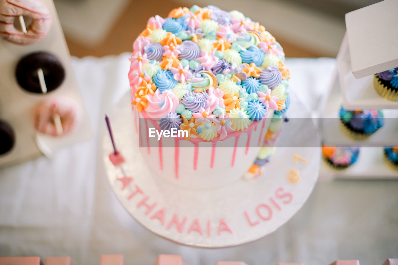 CLOSE-UP OF CUPCAKES IN PLATE