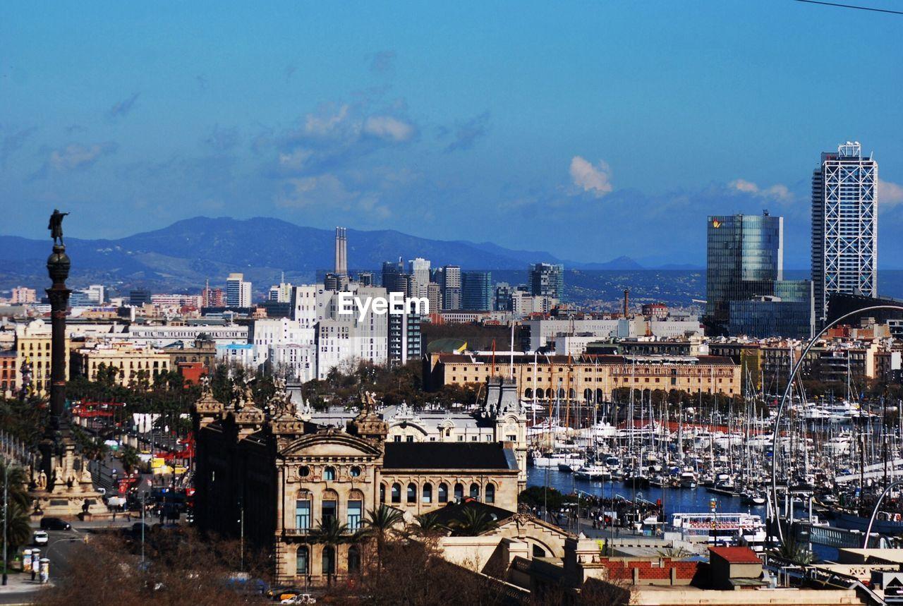 City On Sunny Day