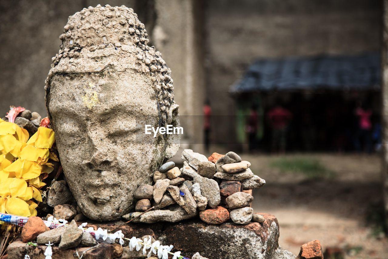 Close-Up Of The Buddha Statue