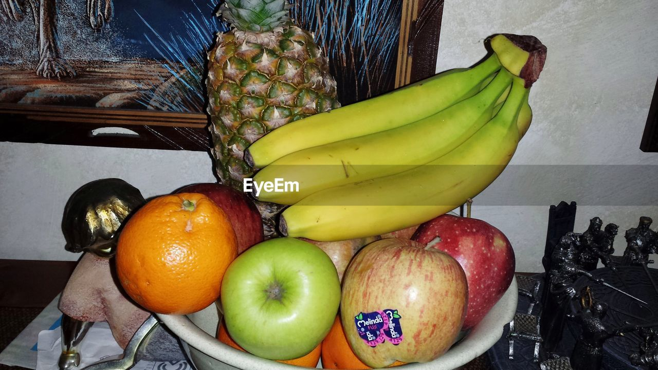 fruit, banana, food and drink, healthy eating, food, high angle view, freshness, indoors, no people, day, close-up