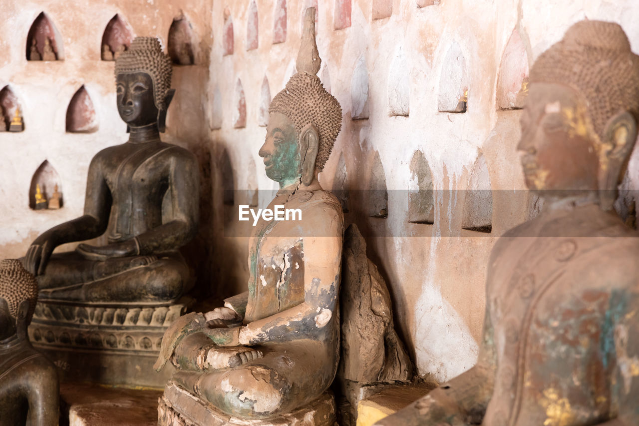 travel destinations, statue, sculpture, religion, no people, ancient, place of worship, old ruin, ancient civilization, built structure, spirituality, day, architecture, indoors, close-up