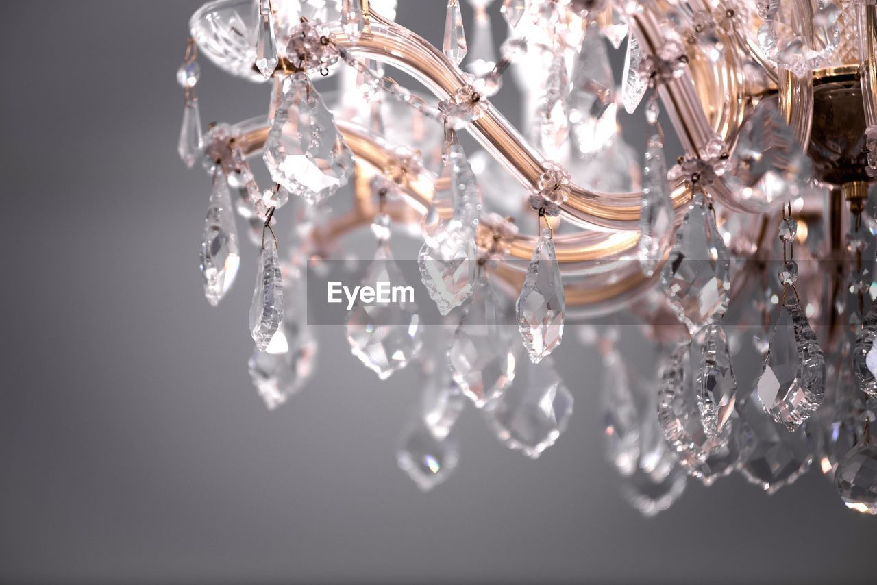 wealth, luxury, close-up, jewelry, no people, indoors, diamond - gemstone, shiny, elegance, selective focus, crystal, reflection, silver colored, winter, cold temperature, chandelier, studio shot, ice, beauty in nature, white color, personal accessory