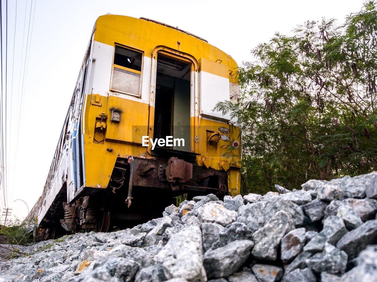 TRAIN ON ROCK