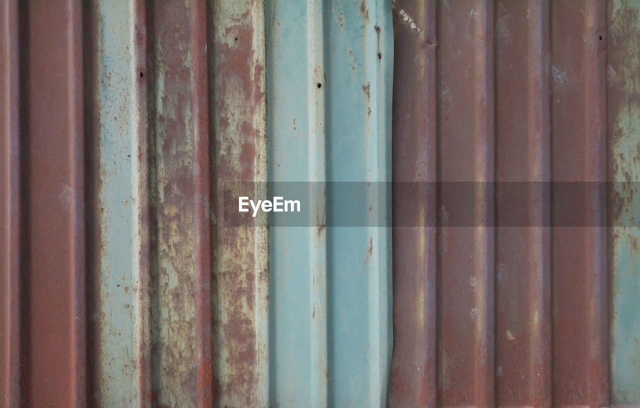 rusty, weathered, backgrounds, full frame, corrugated iron, close-up, no people, metal, day, pattern, multi colored, outdoors