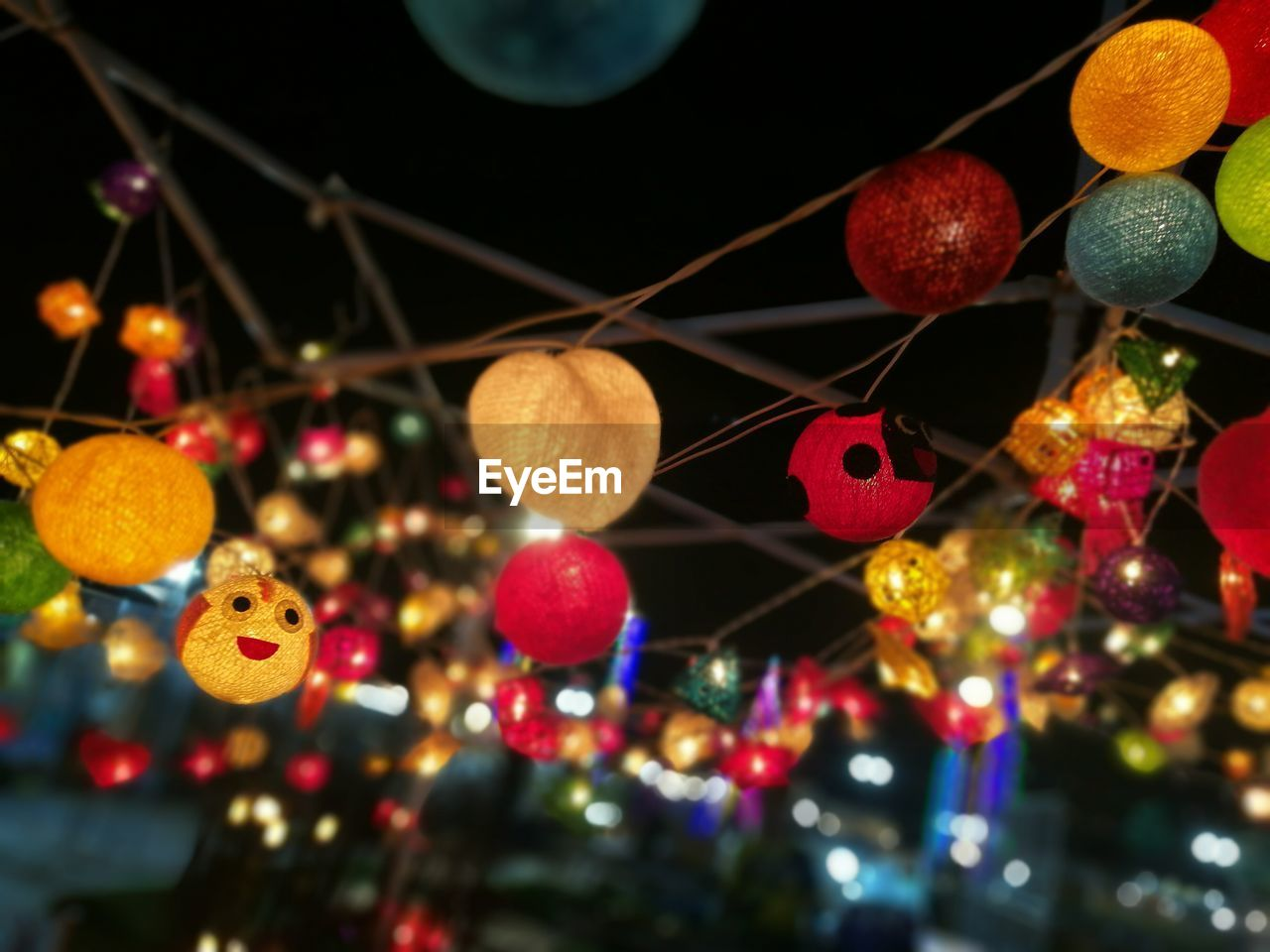 celebration, hanging, christmas, night, no people, multi colored, illuminated, close-up, christmas decoration, indoors
