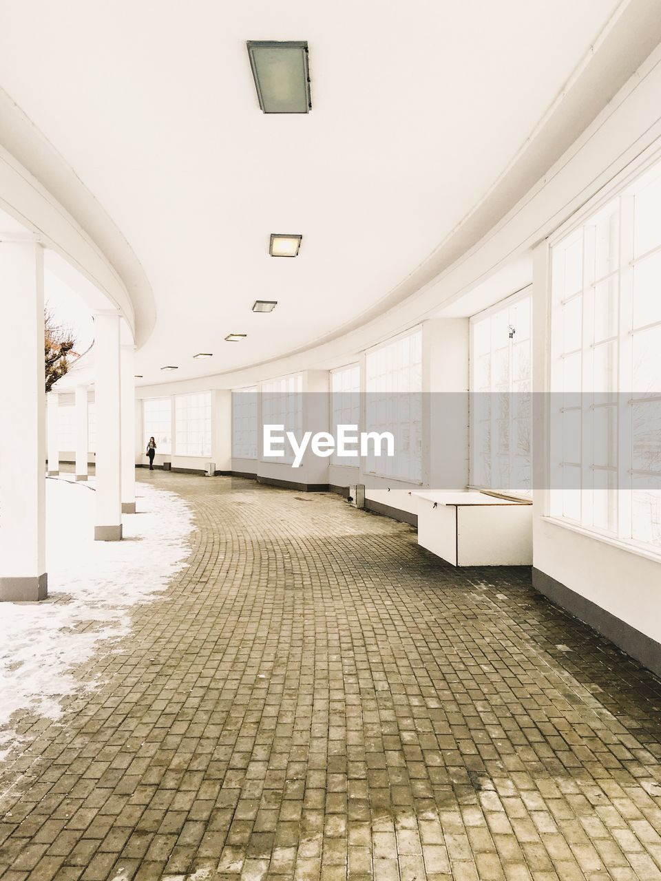indoors, empty, tiled floor, architecture, no people, the way forward, tile, day