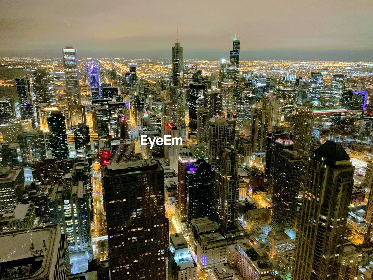 Chicago Skyline: Panorama from the 95th