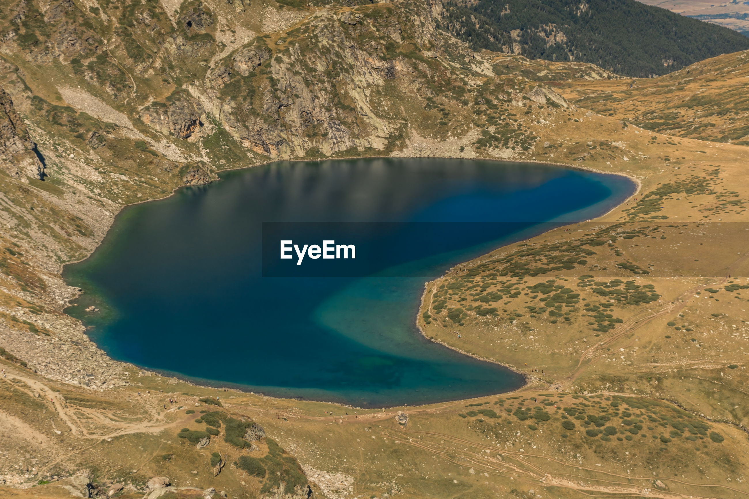 Seven rila lakes, bulgaria the kidney lake